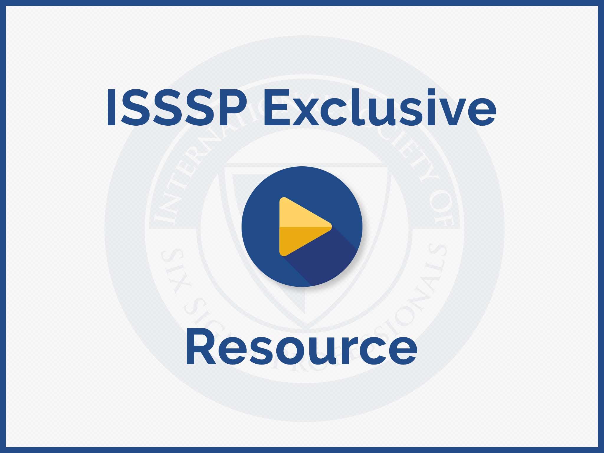 ISSSP Presentation Video Preview
