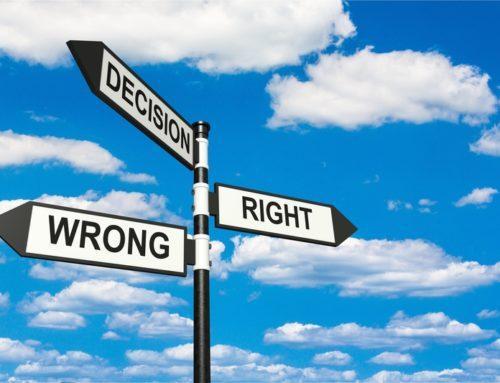 Decisions! Decisions! Decisions!