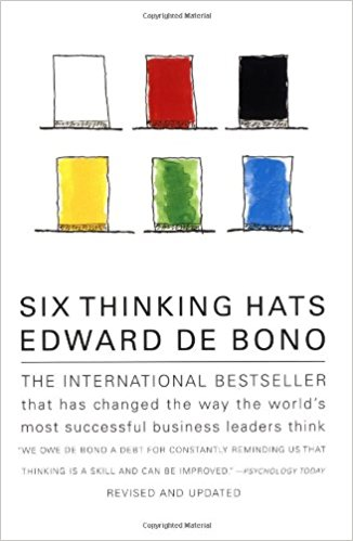 six thinking hats Edward de Bono