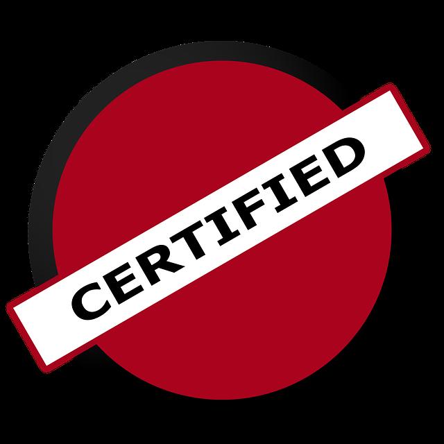 black belt certification